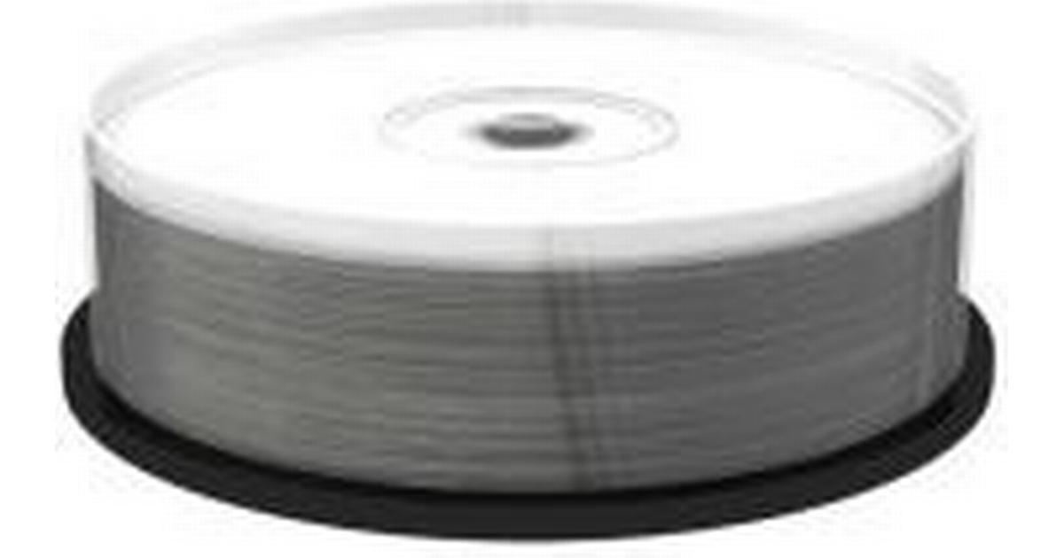 MediaRange CD R 900MB 48x Spindle 25 Pack Wide Inkjet
