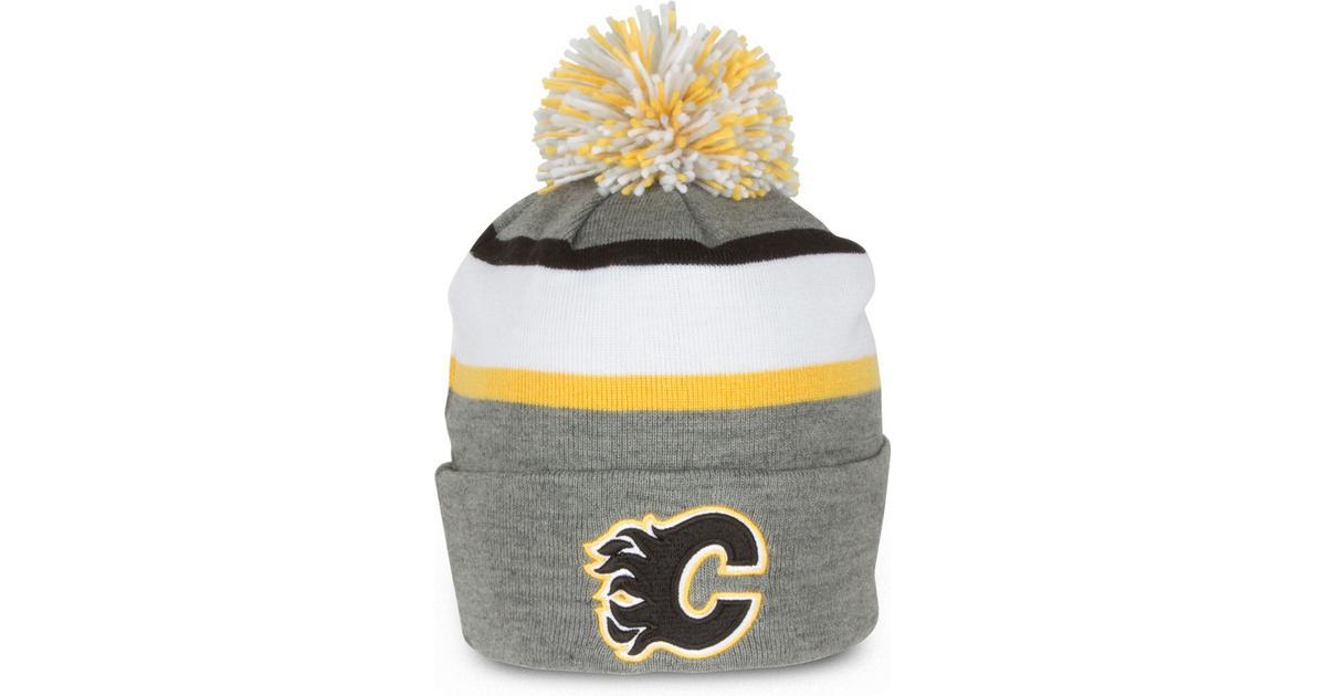 ecebbb53361 CCM Calgary Flames Pom Knit Beanie - Hitta bästa pris