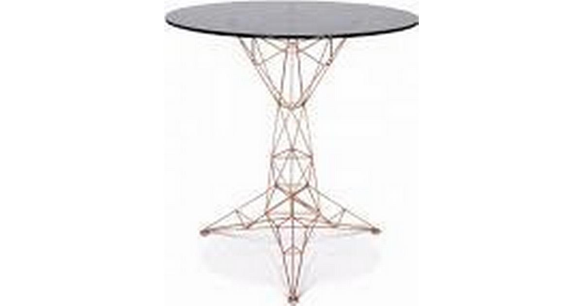 Tom Dixon Pylon Round Spisebord Sofabord Sammenlign Priser Hos