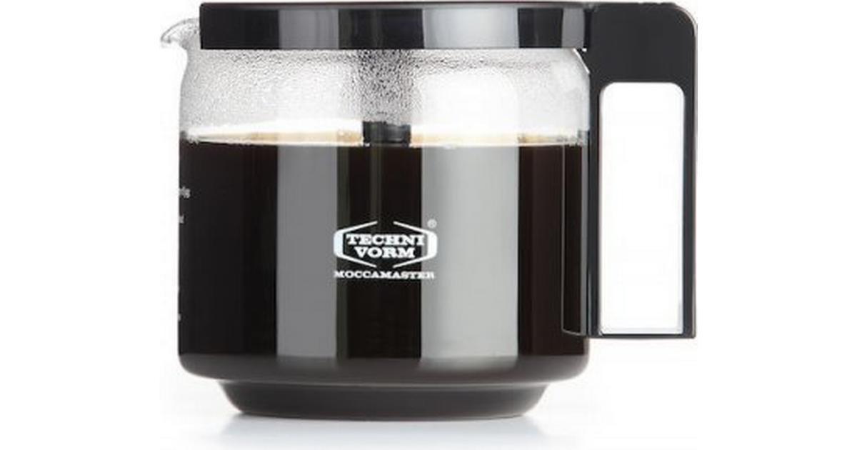 Moccamaster Glaskaraf 89830 CD/GCS/KBG/KBGC 1,25L - Sammenlign priser hos PriceRunner
