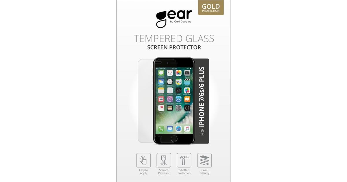 Gear by Carl Douglas Tempered Glass Screen Protector (iPhone 6 Plus 6S Plus 7  Plus) - Hitta bästa pris 01db9e6aaf34b