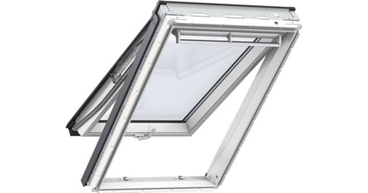 velux mk08 gpu 0050 aluminium top hung window 78x140cm sammenlign priser hos pricerunner. Black Bedroom Furniture Sets. Home Design Ideas