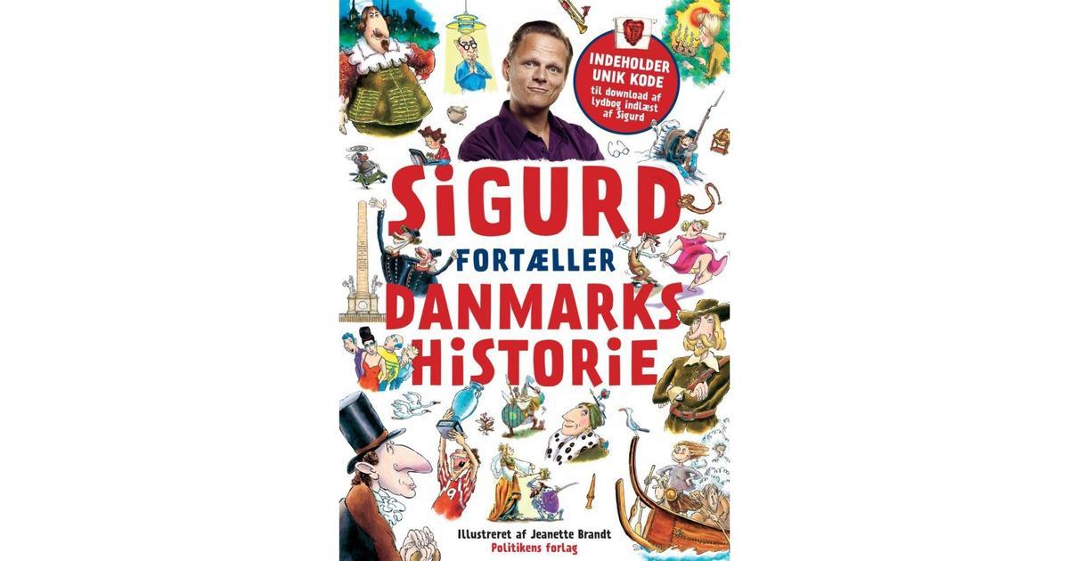 sigurd fortæller danmarkshistorie pricerunner