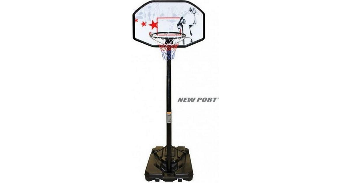 New Port Pro Basketball Stand - Hitta bästa pris f36c4706a3872