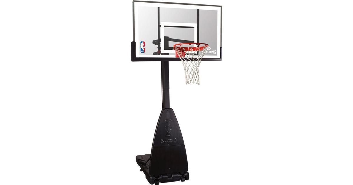 Spalding NBA Platinum Helix Lift Portable System - Hitta bästa pris ... 0fa432ecf5b2a