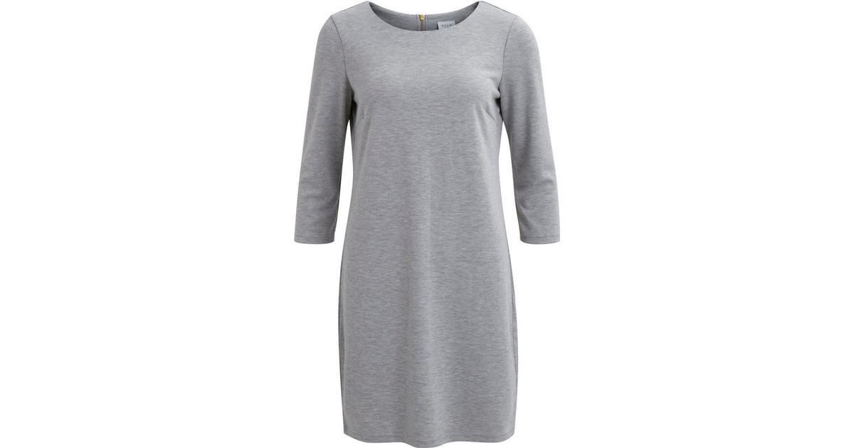 3e757f68 Vila Vitinny Simple Dress Grey/Light Grey Melange - Sammenlign priser hos  PriceRunner