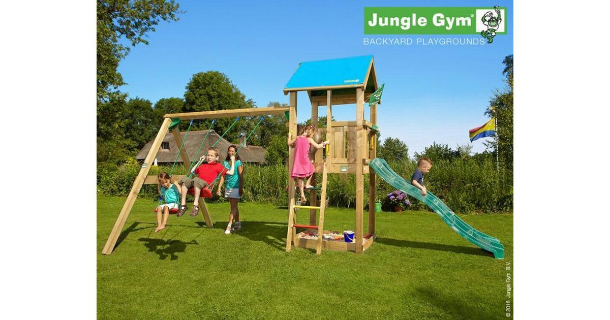 Jungle Gym Lektorn Ink. Swing Module Str Castle - Hitta bästa pris ... 47670fcf8ef91