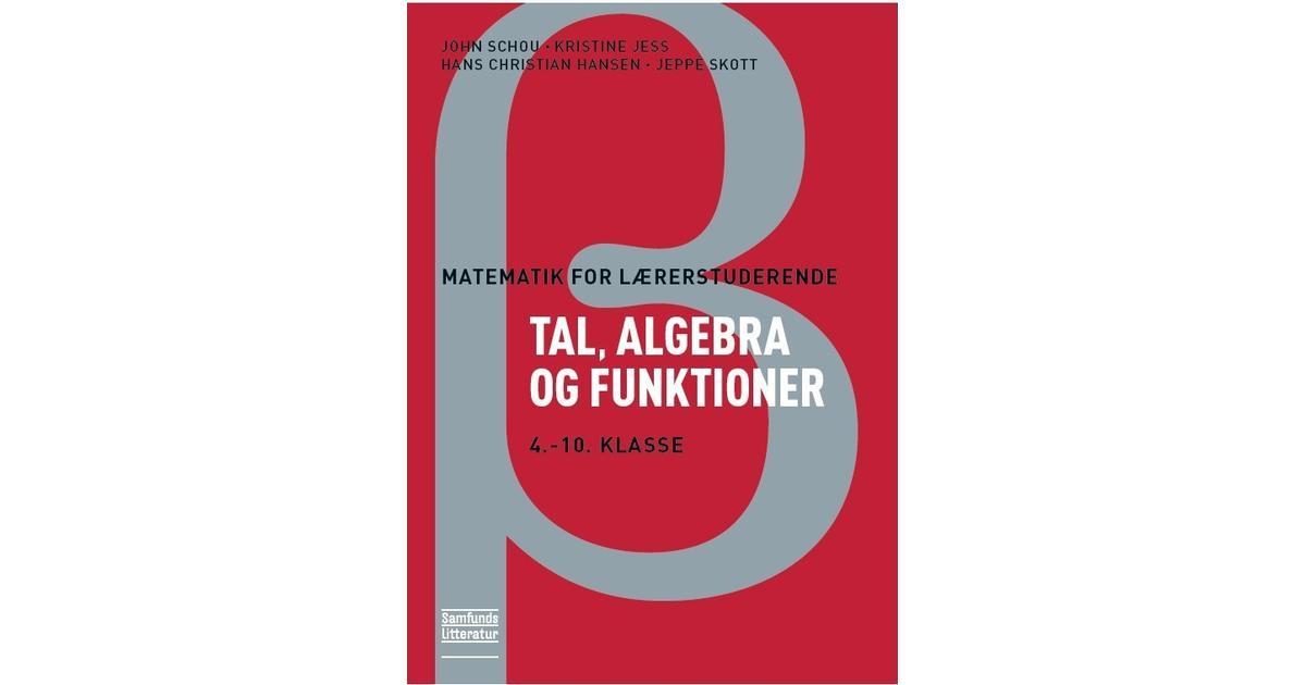 tal algebra og funktioner 1 6 klasse