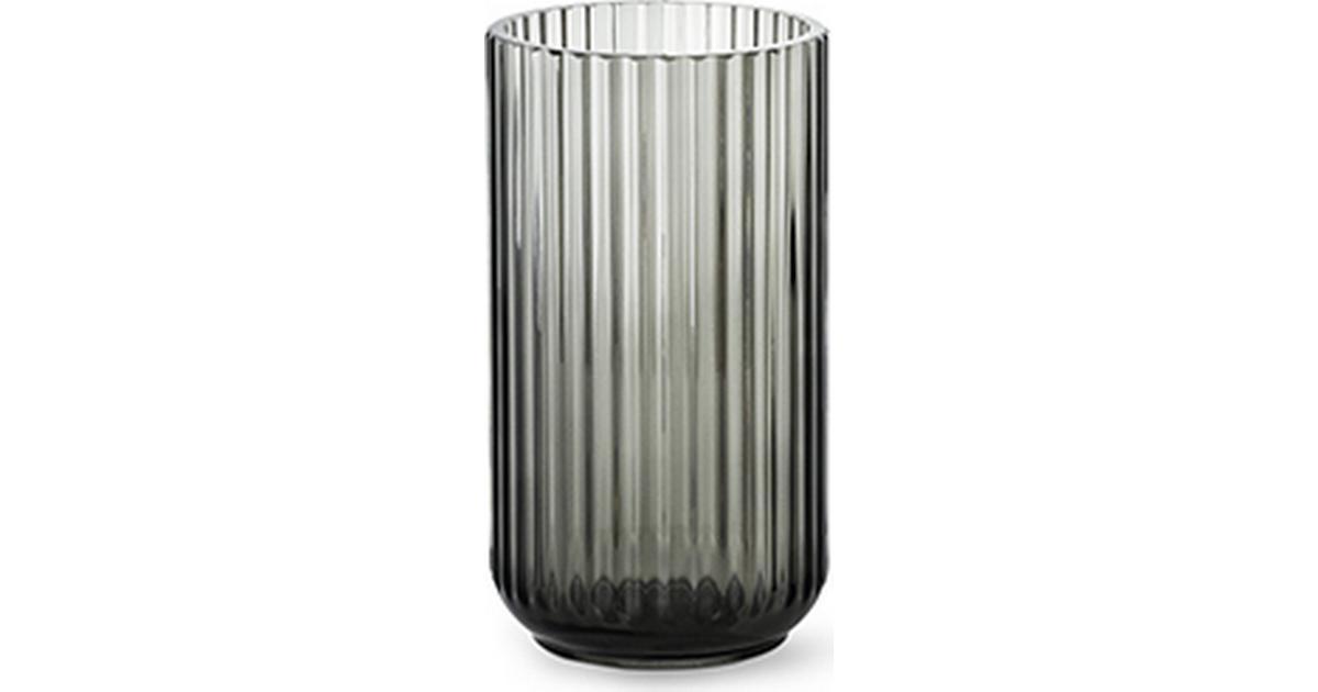 Ny Lyngby Glas Vase 20cm - Sammenlign priser hos PriceRunner PQ11