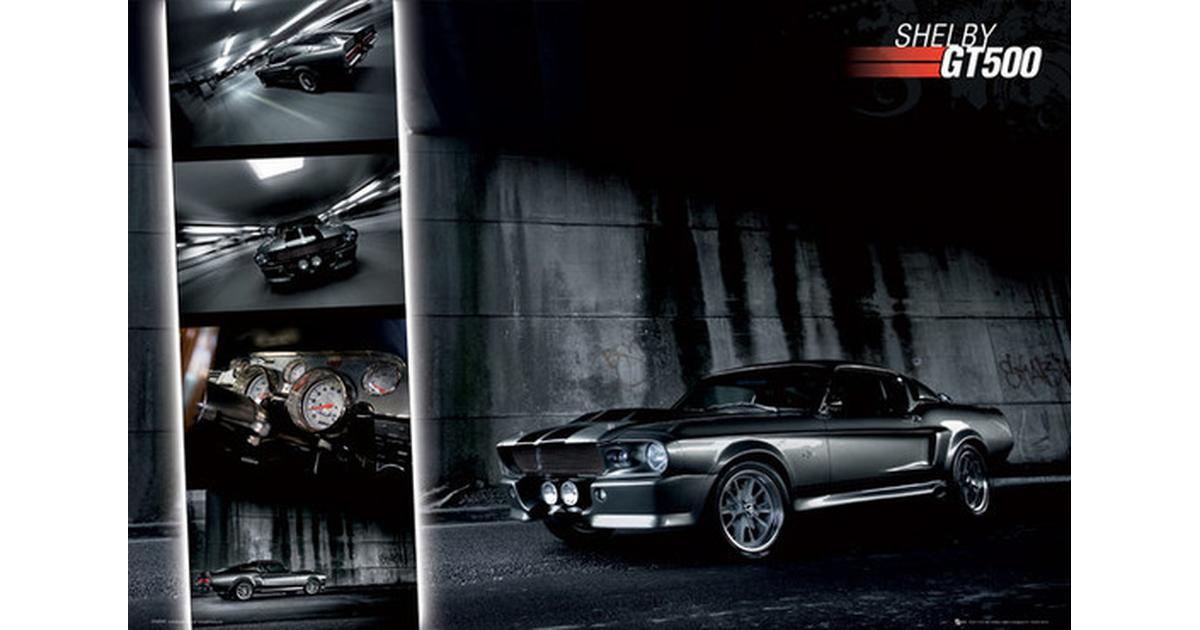 gb eye ford shelby mustang gt500 maxi gn0317 posters compare prices pricerunner uk. Black Bedroom Furniture Sets. Home Design Ideas