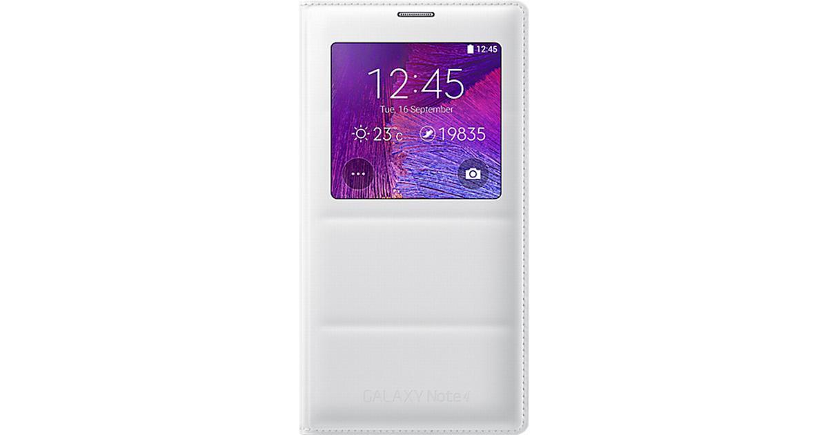 Samsung S View Cover (Galaxy Note 4) - Hitta bästa pris 60ab3fad48b4f