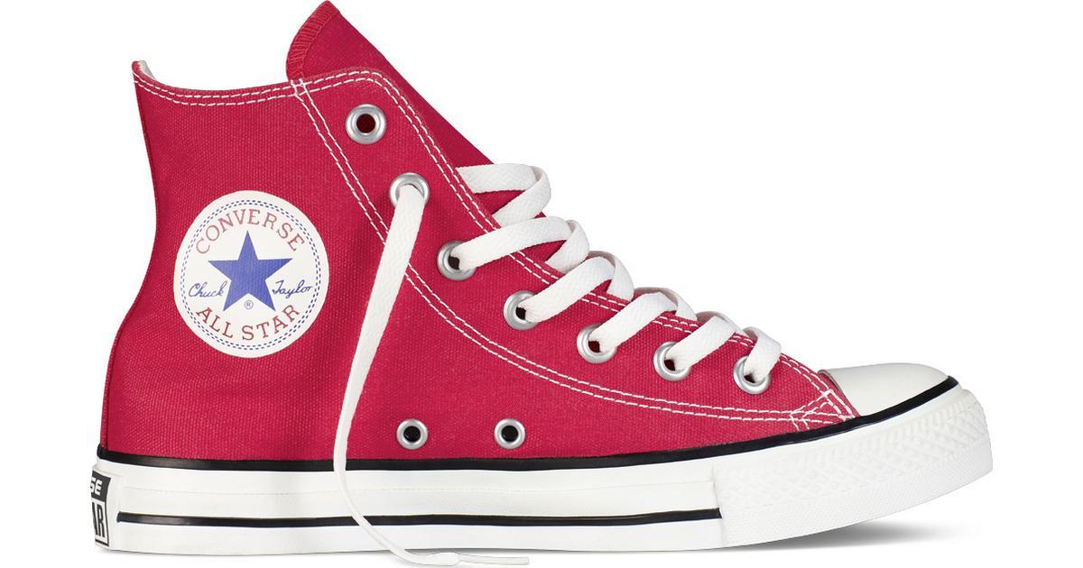 26a5e8c8 Converse All Star Canvas HI Red - Red - Hitta bästa pris, recensioner och  produktinfo - PriceRunner