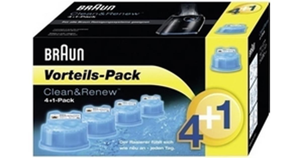 Braun Clean   Renew CCR 4+1 5-pack - Hitta bästa pris 5873e5ddb5b49
