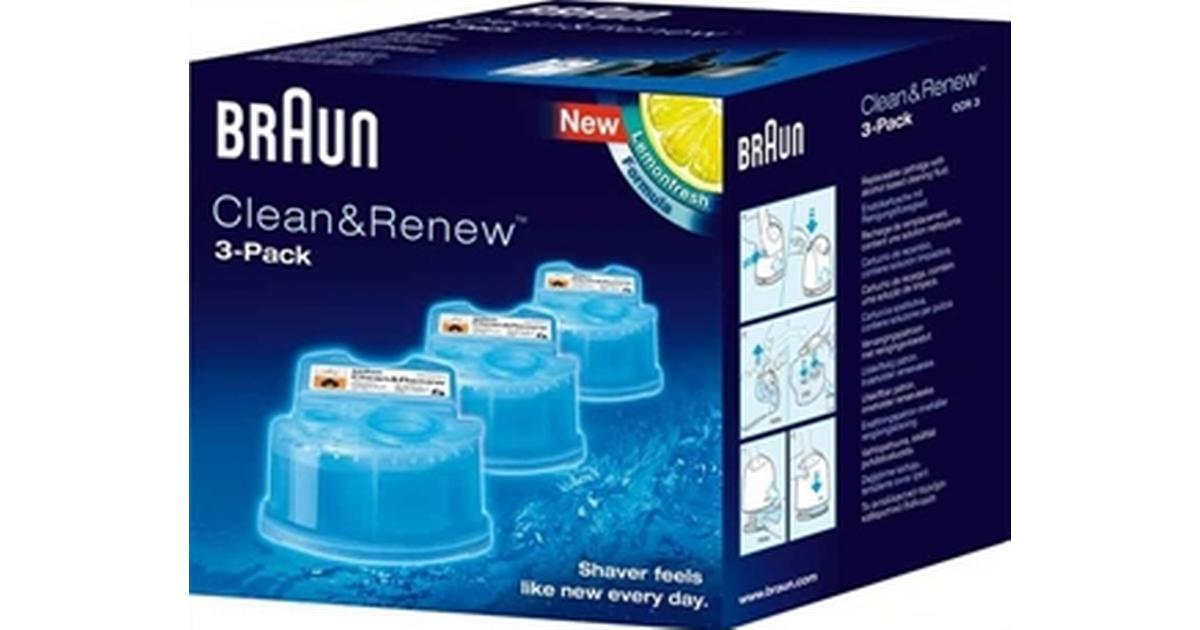 Braun Clean   Renew CCR3 3-pack - Hitta bästa pris 95322fb855f77