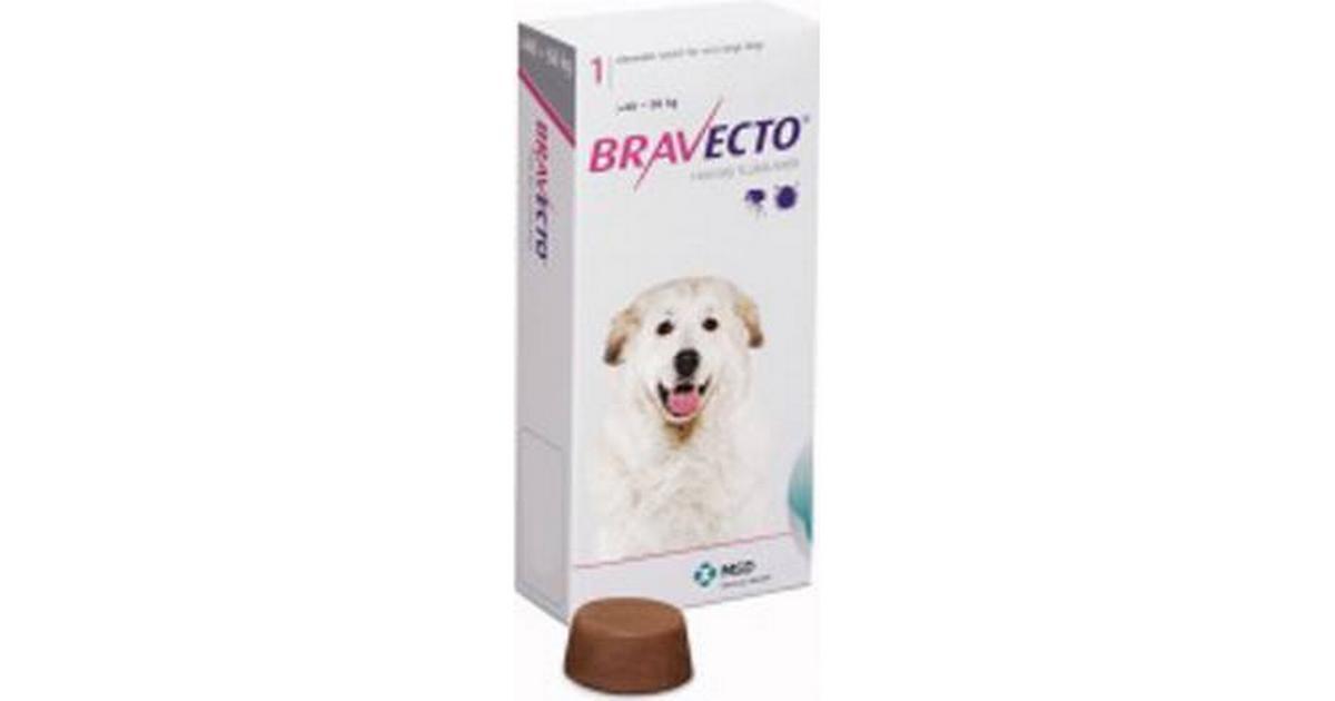 MSD Bravecto Extra Large - Sammenlign priser hos PriceRunner