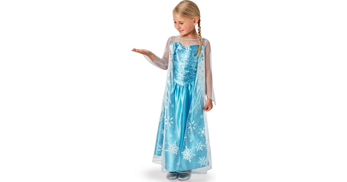 Rubies Elsa Frost Klänning Barn - Hitta bästa pris 3d1a3119a2127