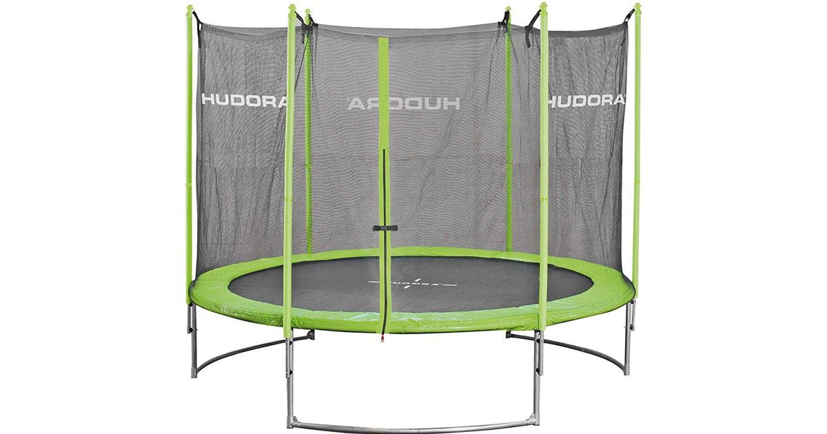hudora family trampolin safety net 250cm sammenlign priser hos pricerunner. Black Bedroom Furniture Sets. Home Design Ideas