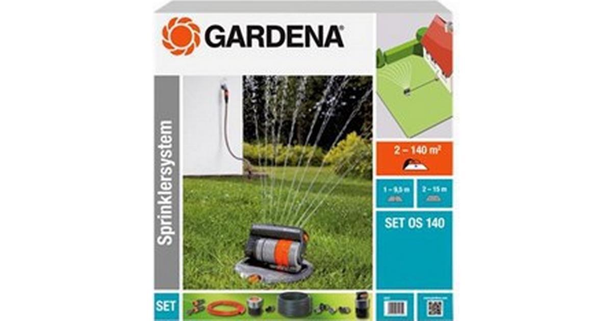 gardena complete set with oscillating pop up sprinkler os. Black Bedroom Furniture Sets. Home Design Ideas
