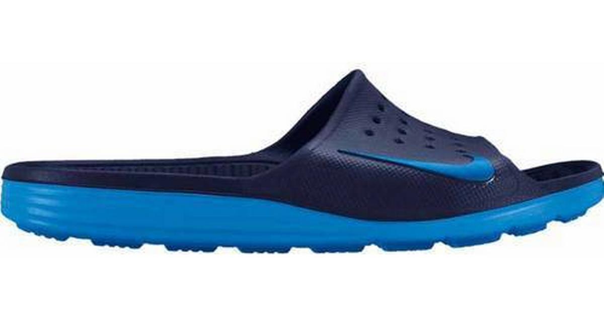 cc965211fdf Nike Nike Solarsoft Slide Badesandal - Sammenlign priser hos PriceRunner
