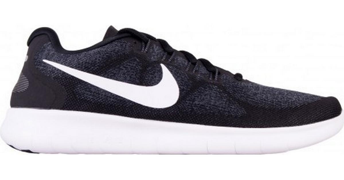 new style c6d8f 80d9a Nike Free RN 2017 W - Black Grey White - Hitta bästa pris, recensioner och  produktinfo - PriceRunner