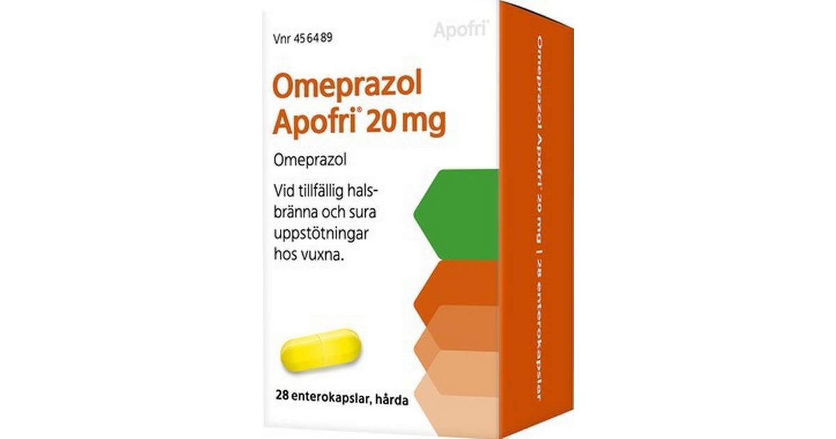 omeprazol och alvedon
