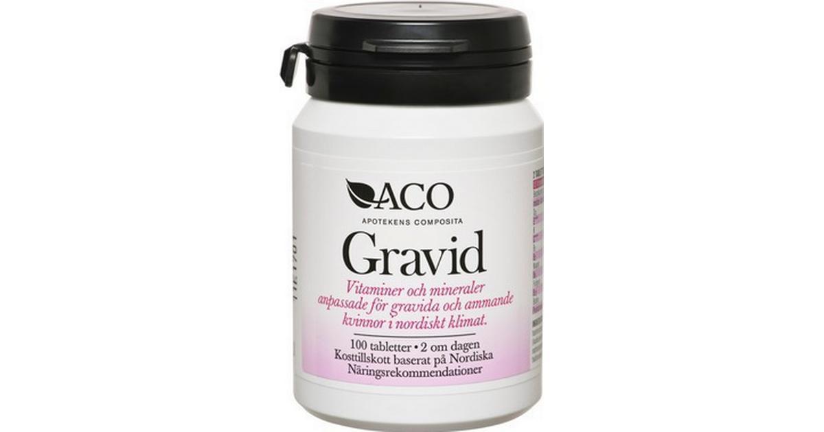 gravid vitaminer mineraler