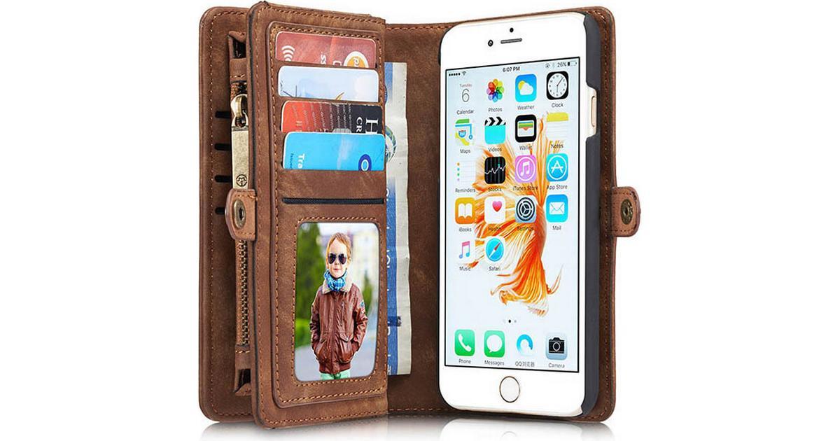 CaseMe 2 in 1 Zipper Wallet Detachable Case (iPhone 6 6S) - Hitta bästa  pris 2cac8ea248da8