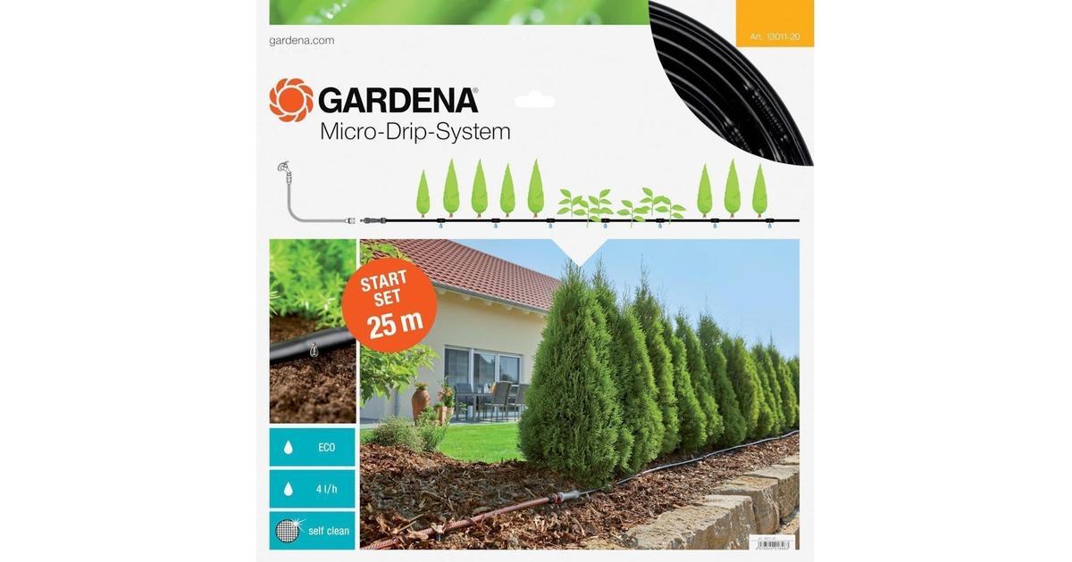 gardena micro drip system above ground drip 25m hitta b sta pris recensioner och produktinfo. Black Bedroom Furniture Sets. Home Design Ideas