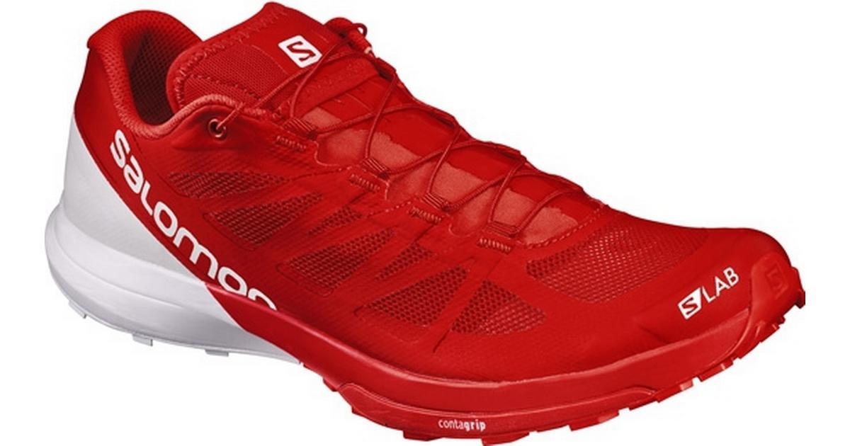 new style ea219 d9701 Salomon S-LAB Sense 6 - Red White - Sammenlign priser hos PriceRunner