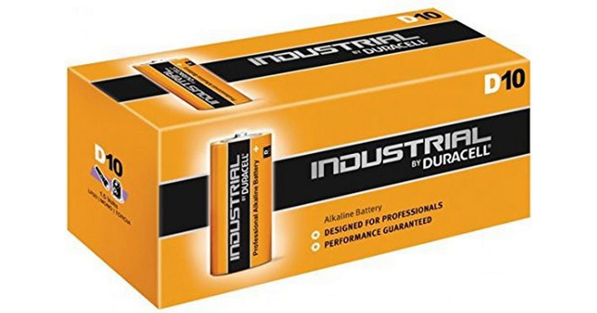 Duracell D10 1.5V Industrial (10 pcs) - Hitta bästa pris ... 5fe8b46c6aaa9