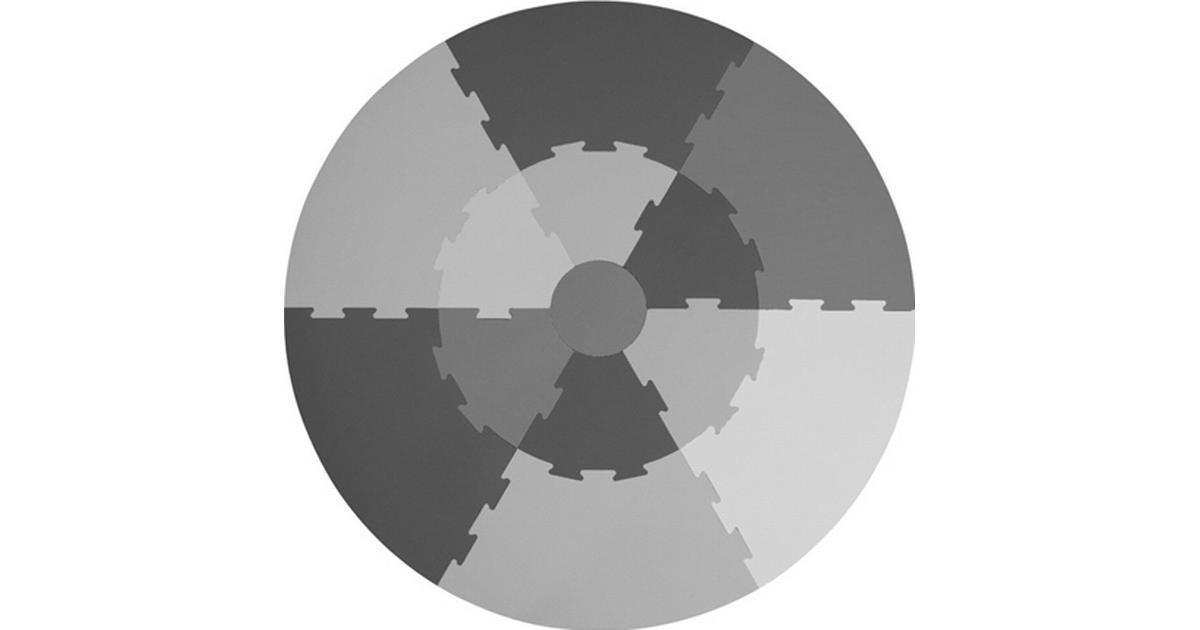 Sebra lekmatta grå