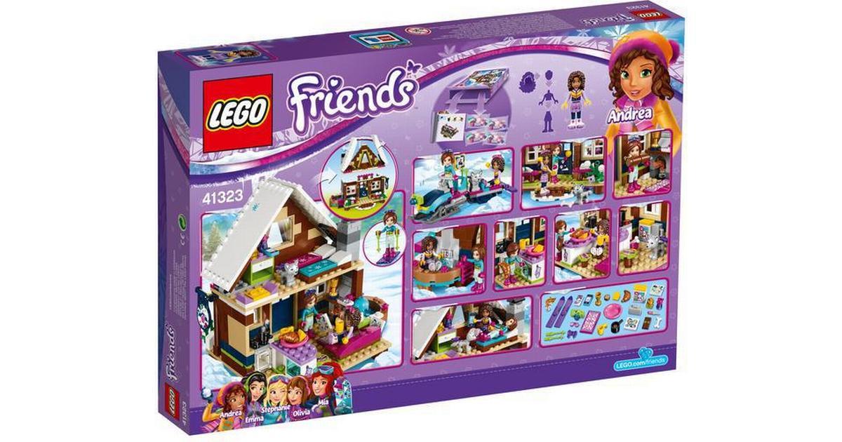 e2cac0af1c9 Lego Friends Skisportsstedets Hytte 41323 - Sammenlign priser hos  PriceRunner