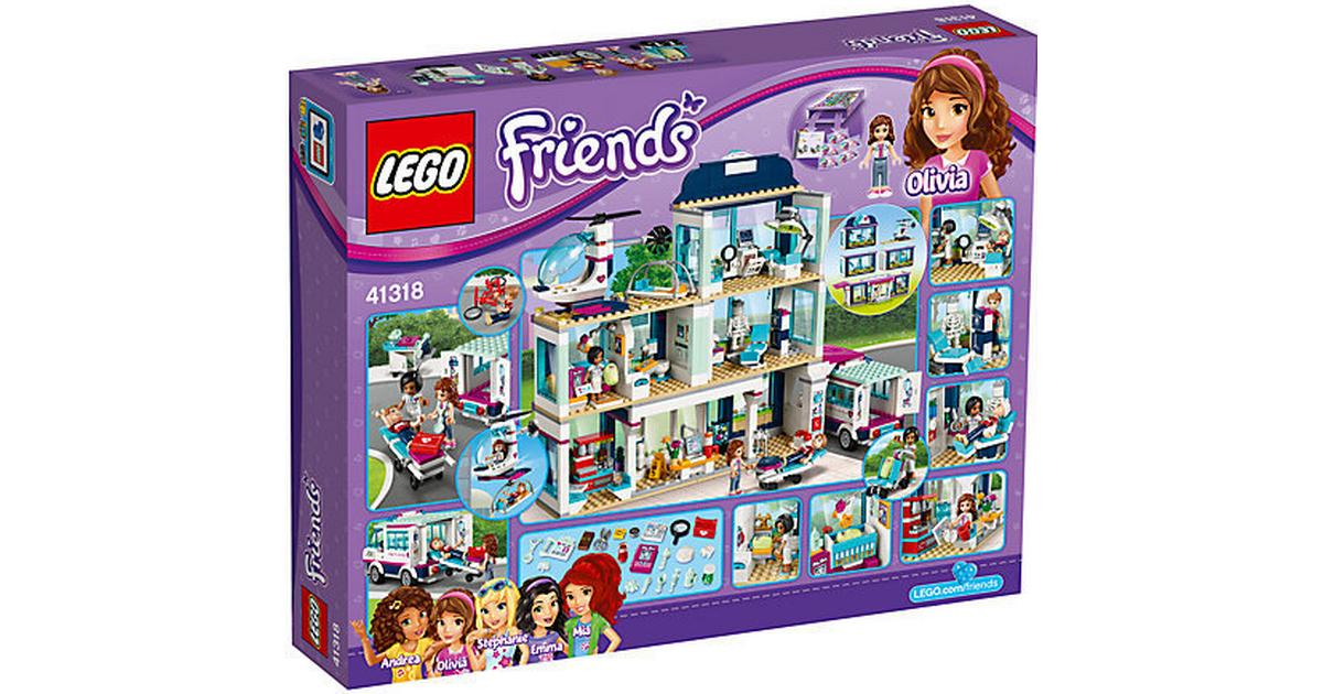 Lego Friends Heartlake Hospital 41318 - Compare Prices - PriceRunner UK
