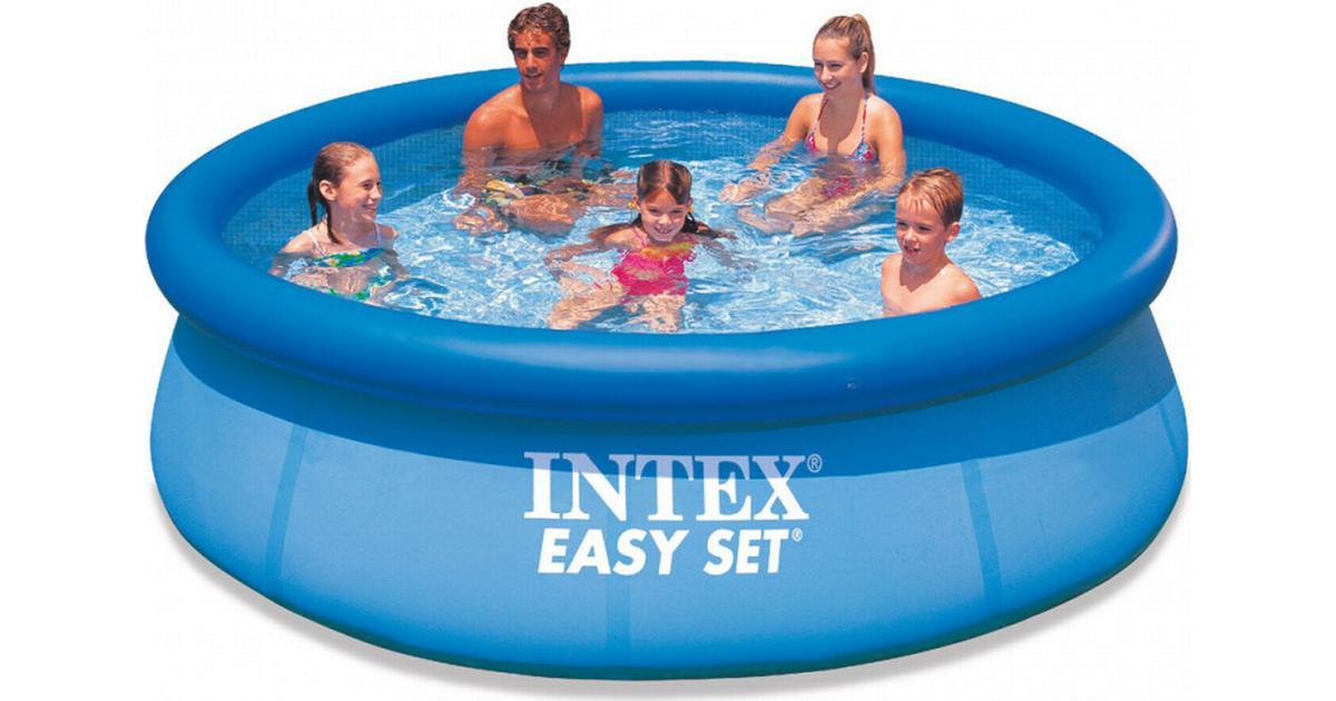 Seriøst Intex Easy Pool Set Ø3.05m - Sammenlign priser hos PriceRunner KW87
