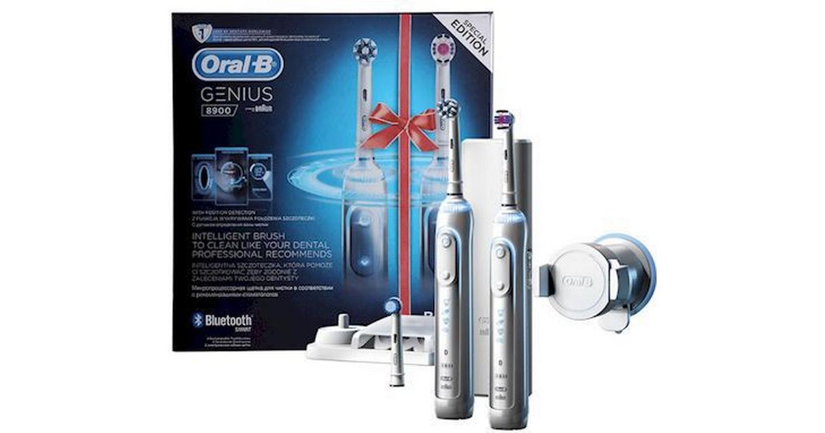 Oral-B Genius 8900 Duo - Hitta bästa pris 7d3ec55424168