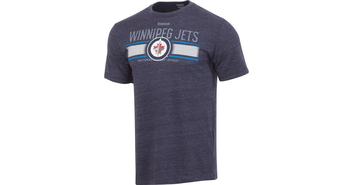 pretty nice 8aaae 19b2b Reebok Winnipeg Jets Stripe Overlay T-Shirt - Hitta bästa pris, recensioner  och produktinformation på PriceRunner Sverige