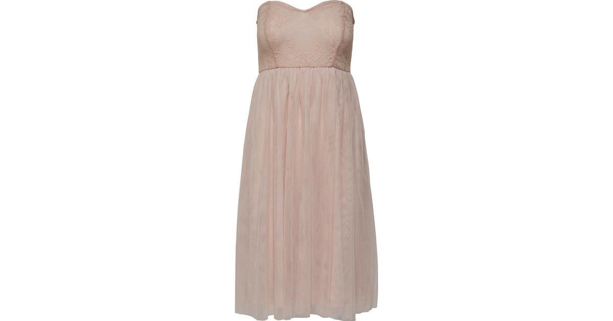 c790b8c5be8a Only Mesh Sleeveless Dress Beige Pink Tint - Sammenlign priser hos  PriceRunner