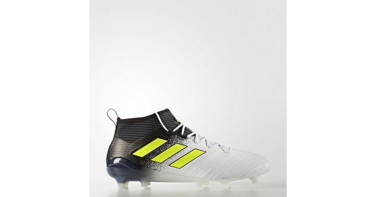 adidas ACE 17.1 FG WhiteSolar YellowCore Black