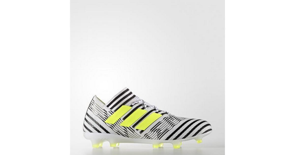 best website 0a0db ab1f6 Adidas Nemeziz 17.1 FG M - White Black Yellow - Hitta bästa pris,  recensioner och produktinfo - PriceRunner