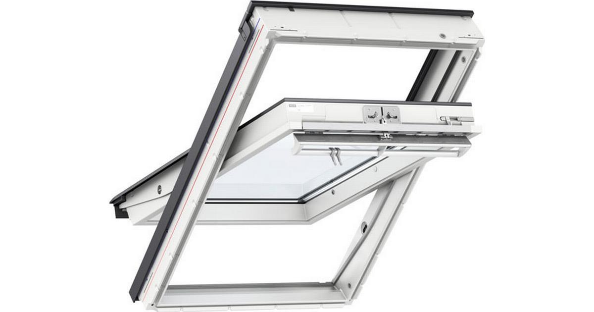 velux mk08 ggu 0070 aluminium drej kip vindue 78x140cm. Black Bedroom Furniture Sets. Home Design Ideas
