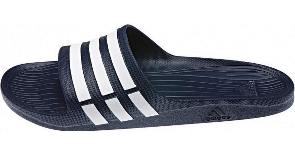 ff7bf3abf48 Adidas Duramo Slip-In - White/Blue - Sammenlign priser hos PriceRunner