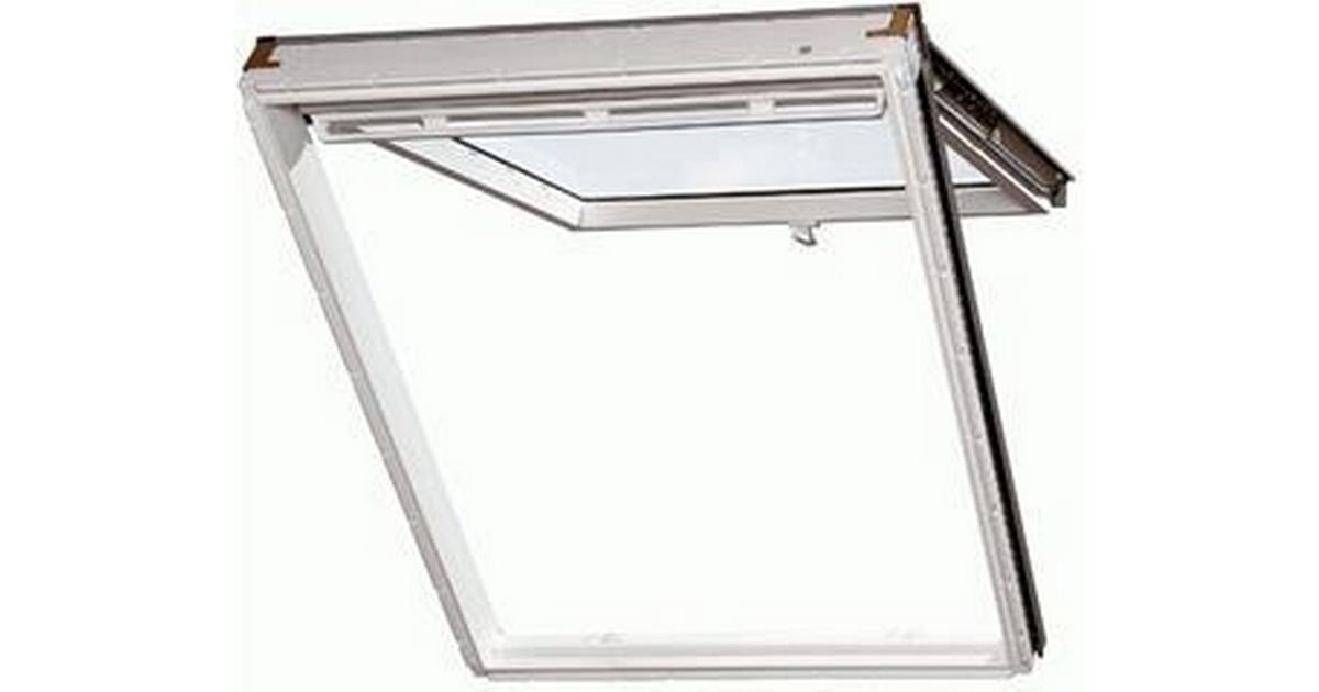 velux mk06 gpu 0050 aluminium top hung window 78x118cm sammenlign priser hos pricerunner. Black Bedroom Furniture Sets. Home Design Ideas