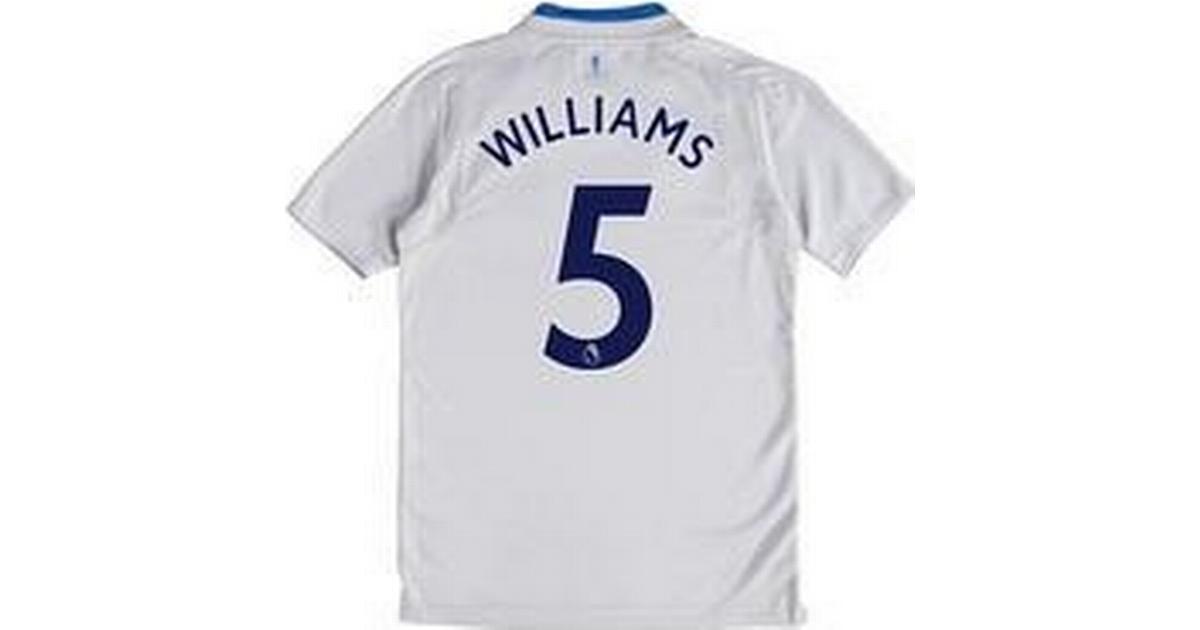 709a8edf1 Umbro Everton Away Jersey 17 18 Williams 5. Youth - Sammenlign priser hos  PriceRunner
