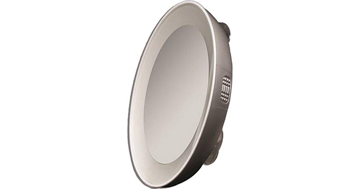 Tweezerman Led Lighted Compact Mirror 10x Sammenlign