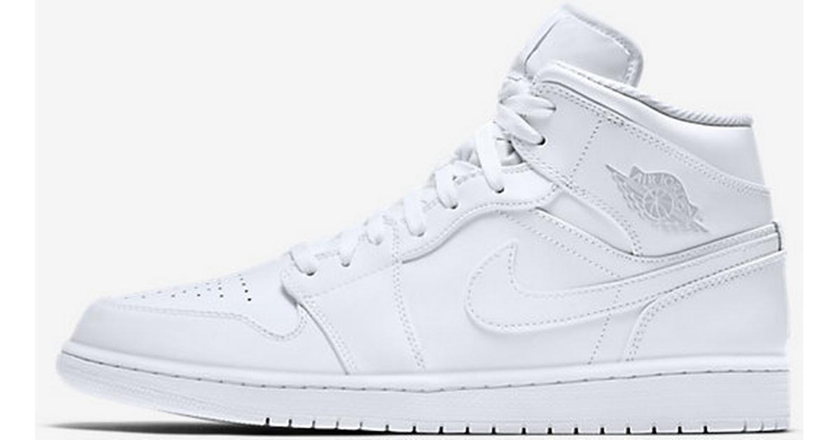 size 40 093d8 179a1 Nike Air Jordan 1 Mid - White - Hitta bästa pris, recensioner och  produktinfo - PriceRunner