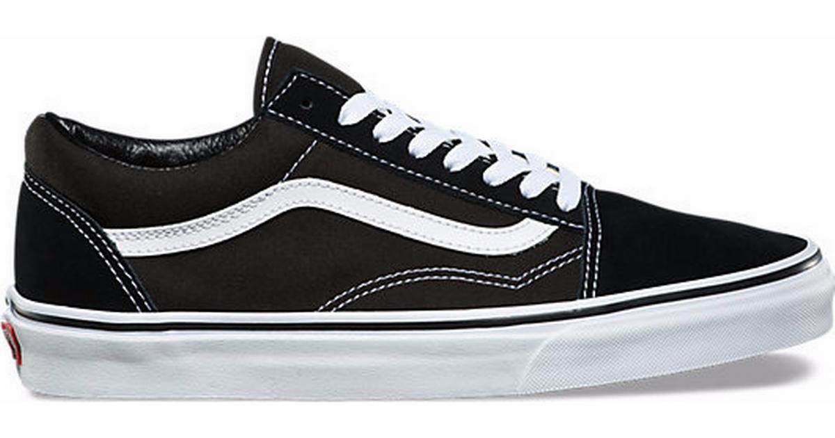39373294cd Vans Old Skool - Black - Sammenlign priser hos PriceRunner