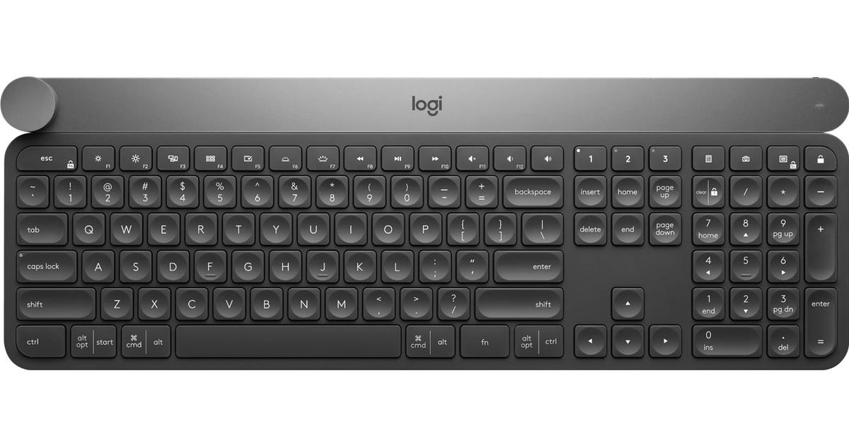 Logitech Craft Wireless Nordisk - Hitta bästa pris 44f1b3285bbea