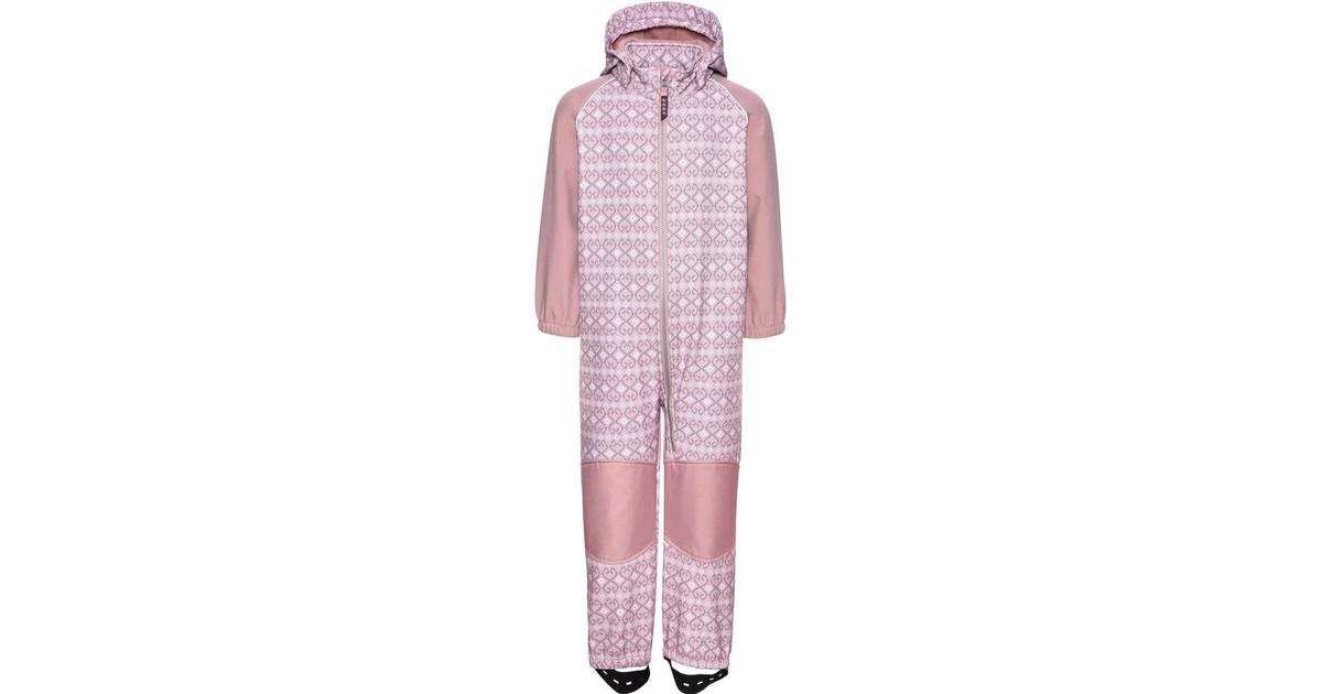 name it mini alfa all over printed softshell suit pink. Black Bedroom Furniture Sets. Home Design Ideas