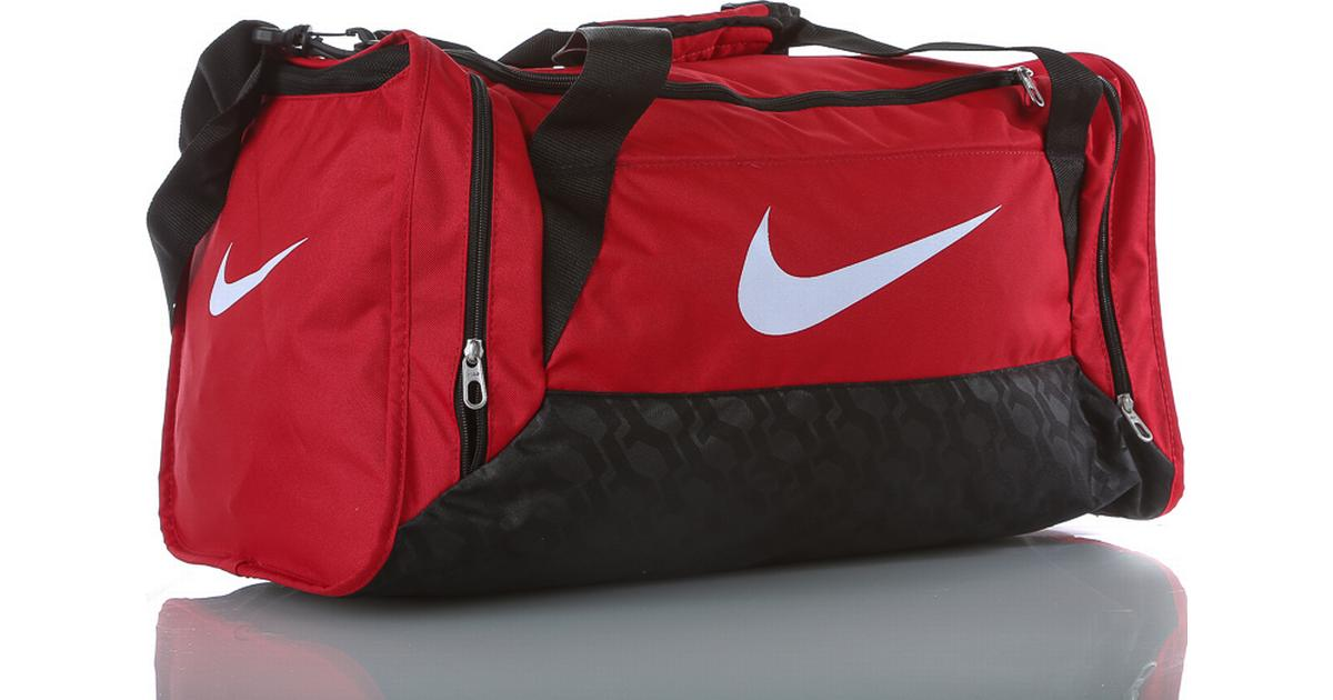 ... Nike Brasilia 6 - RedBlack (BA4831-001) - Sammenlign priser hos  PriceRunner online  Nike Brasilia 6 X-Small Duffel Bag Flint Grey ... d8d1d594a254c