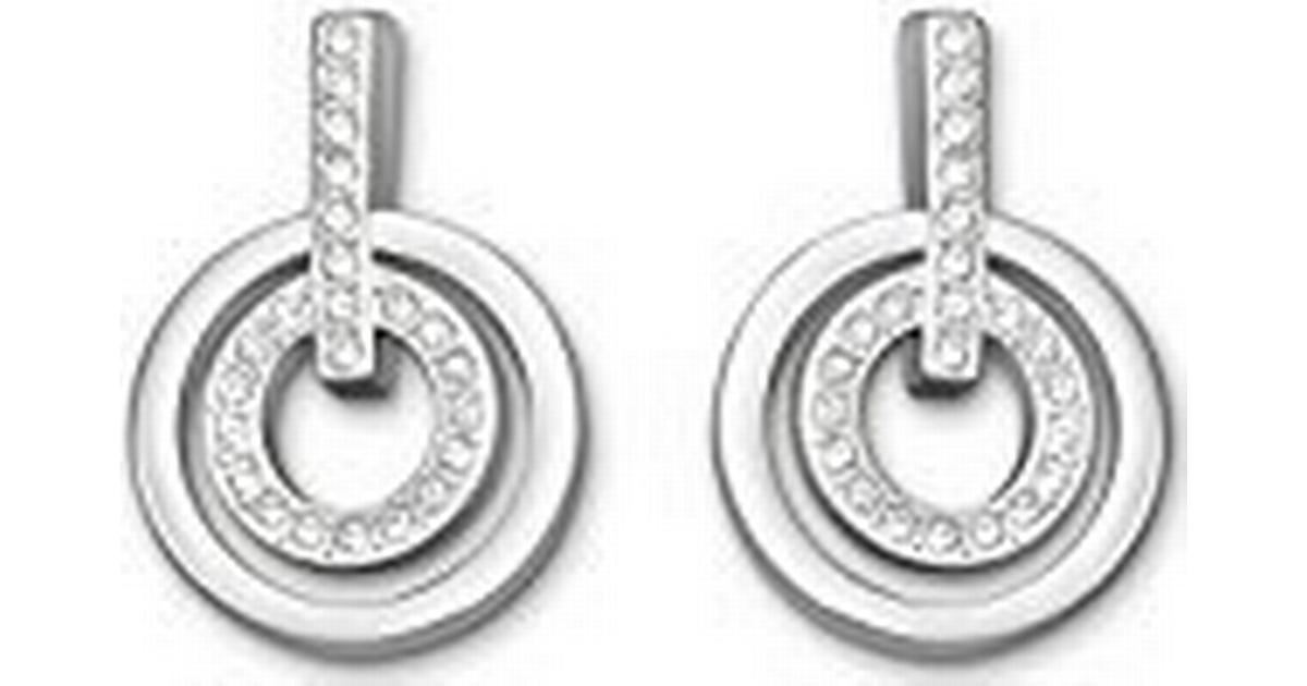 d784bb2bd Swarovski Circle Mini Brass Rhodium Plated Pierced Earrings w. Swarovski  Crystal - 2cm (5007750) - Hitta bästa pris, recensioner och produktinfo -  ...